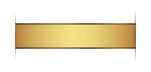 Gold Design Element