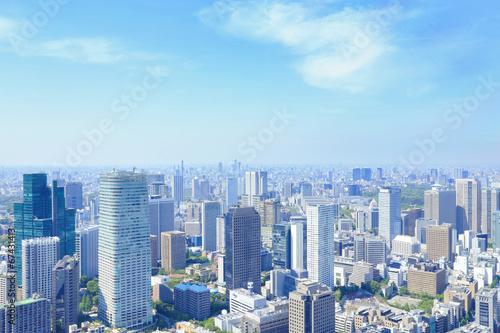 Fotografia, Obraz  東京タワーからの眺め