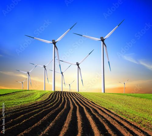 Poster Molens Wind Generators