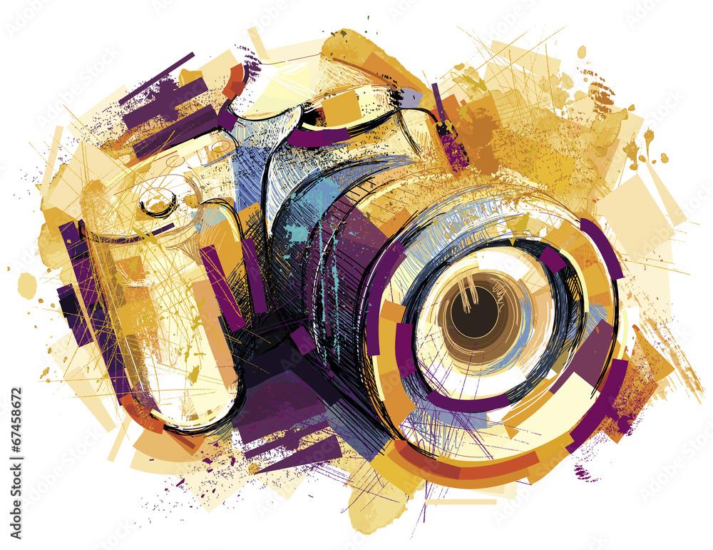 Fototapety, obrazy: Golden Cam