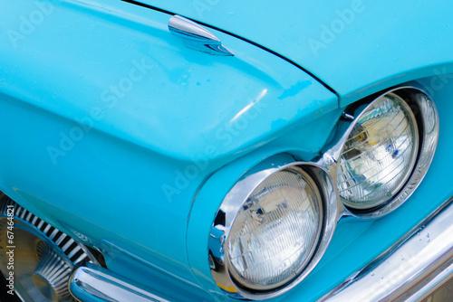 фотография  1960's Ford Thunderbird headlights
