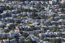 San Francisco Hillside Neighborhood
