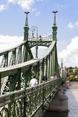 Budapest, Ungarn, Freiheitsbrücke