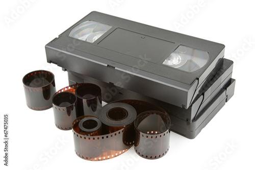 Valokuva  videotapes and film