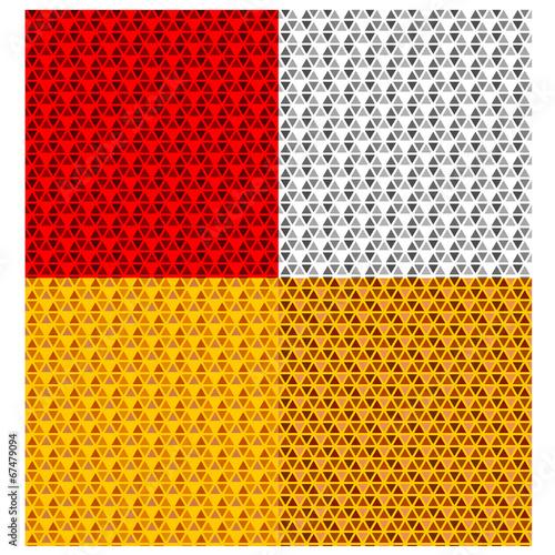 Obraz vector vehicle reflector seamless pattern - fototapety do salonu