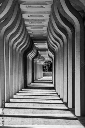 Corridoio porticato