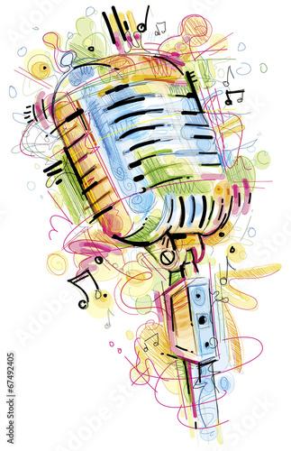 kolorowy-mikrofon