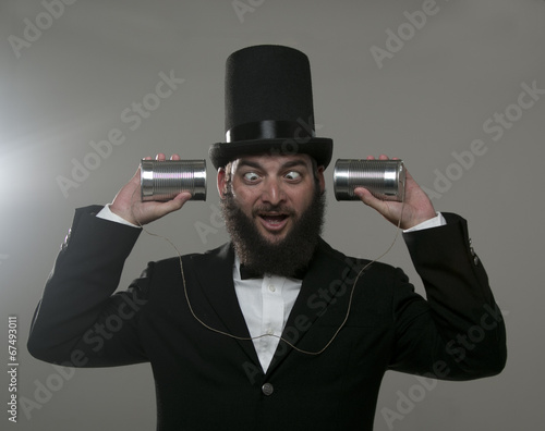 Abraham Lincoln Look Alike Poster
