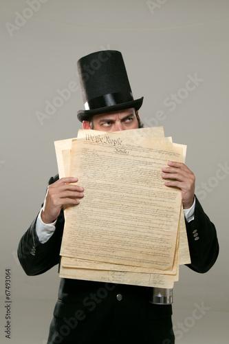 Foto  Abraham Lincoln Look Alike