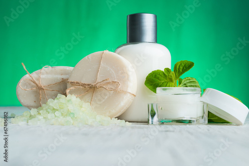 Obraz na plátně  Natural Cosmetic Spa