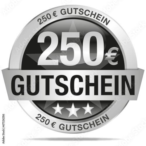 Poster  250 Euro Gutschein