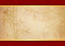 Oriental Bamboo Pattern Backgr...