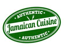 Jamaican Cuisine Stamp
