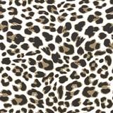 Leopard seamless pattern design, vector illustration background