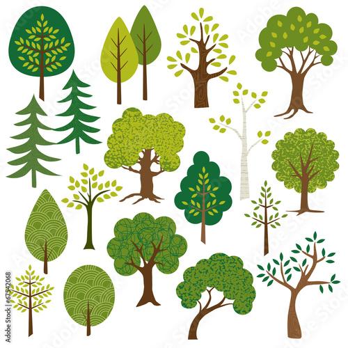 Fotografija  trees clipart