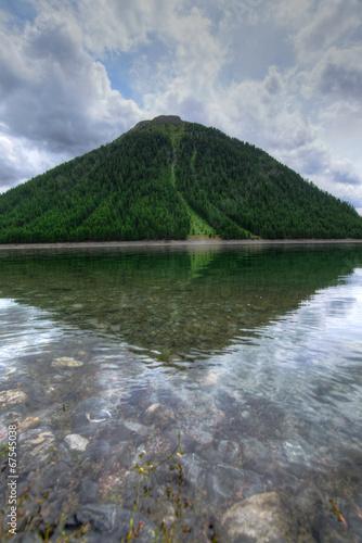 Staande foto Reflectie Riflessi nella natura