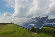 The Solar Farm For Green Energy In Thailand