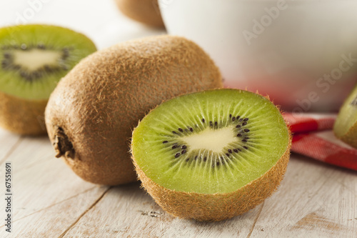 Fotografie, Tablou  Fresh Organic Green Kiwi