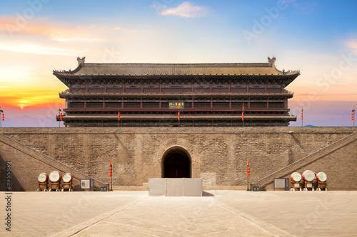Foto op Plexiglas Xian Stadtmauer in Xian