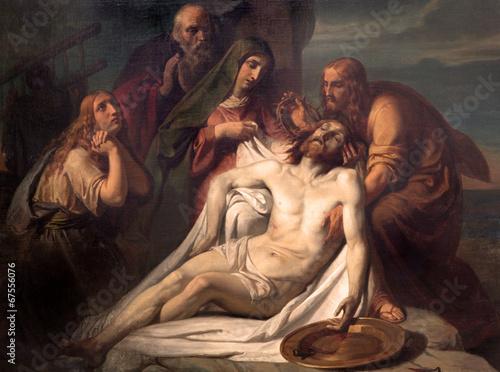 Obraz Zdjęcie Jezusa z krzyża - fototapety do salonu