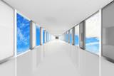 Fototapeta Do przedpokoju - Corridor - 3D Rendering