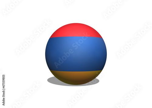 Fototapete - flag of Armenia themes design idea