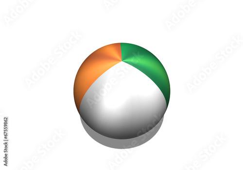 Fototapete - Ivory Coast flag