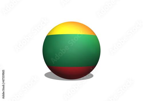 Fototapete - National flag of Lithuania themes idea design