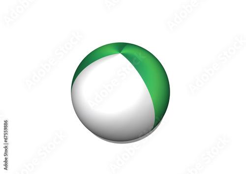 Fototapete - Nigeria flag themes idea design