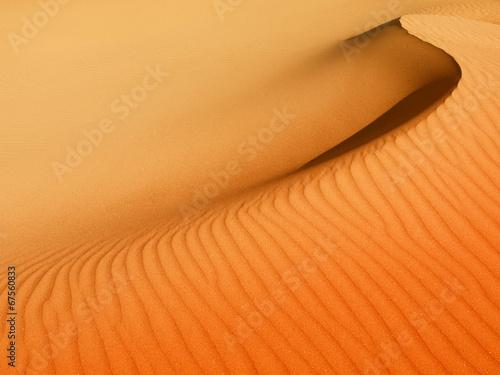 Fotobehang Zandwoestijn Sand dunes