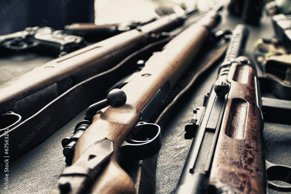 Fototapeta Old guns