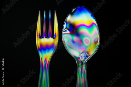 Photo Spoon Birefringence