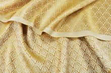 Crumpled Thai Silk Fabric