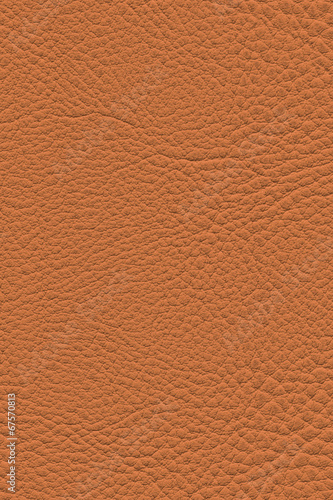 Deurstickers Leder Artificial Eco Leather Red Ochre Coarse Grunge Texture
