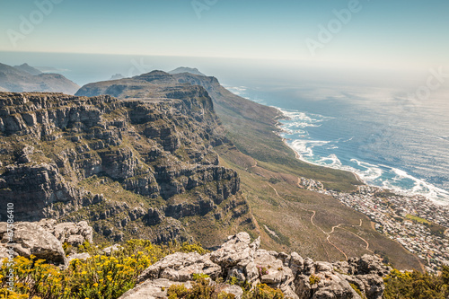 Foto op Plexiglas Zuid Afrika Twelve apostles in Table Mount in Cape Town South Africa