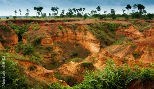 Fotografia gongoni, grand canyon of west bengal, India