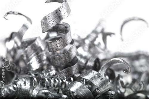Fényképezés  Pile of Metal Shavings