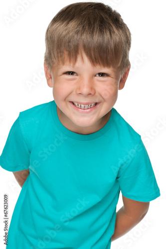 Little happy boy
