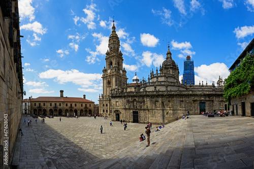 Plaza de la Quintana en Santiago de Compostela Fototapeta