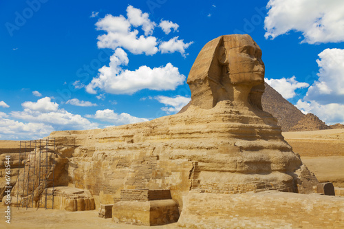 Foto op Canvas Egypte Sphinx