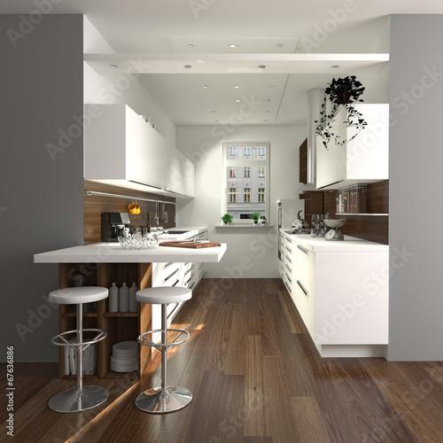 Wunderbar Moderne Kleine Küche