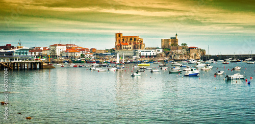 Harbour of Castro Urdiales, Spain