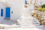 Fototapeta Na drzwi - traditional street in Tinos Island,Greece
