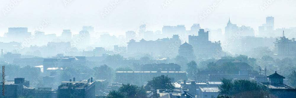 Fototapeta Beijing Smog
