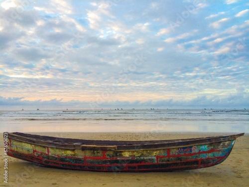 Foto op Aluminium Strand The Africa