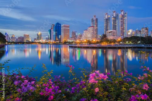 Montage in der Fensternische Bangkok Bangkok thailand public parks