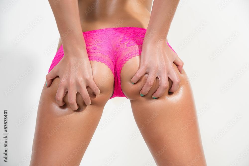 4729bb82da8e Fotografía sexy butt girls in pink underwear | Europosters.es