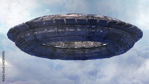 Photo  UFO CGI