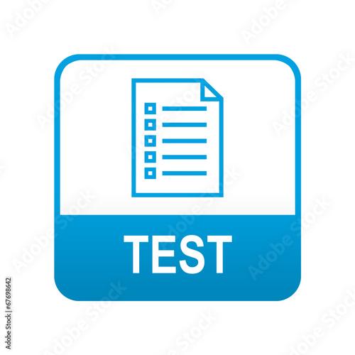 Foto  Blau Typ App-Tag TEST