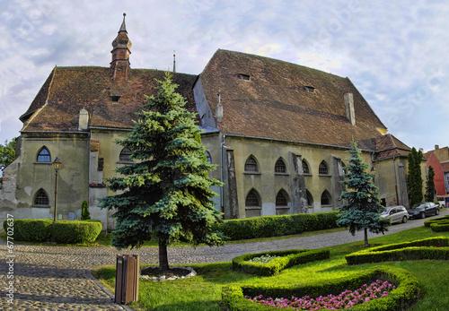 Fotografie, Obraz  Sighisoara - town where Vlad Tepes-Draculea was born. Romania